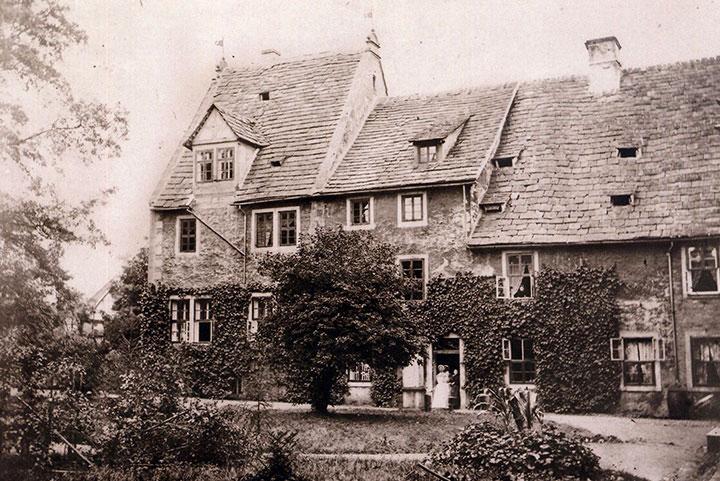 Redenhof Herrenhaus um 1900