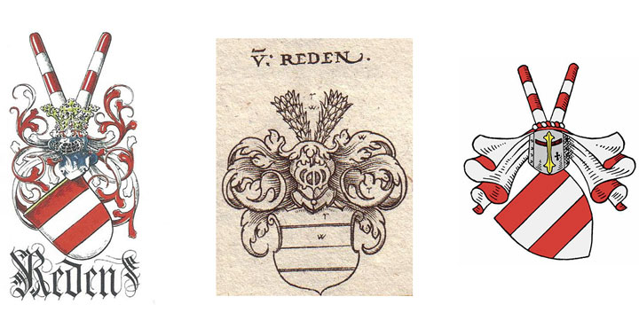 3 Wappen der Familie von Reden